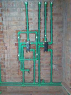 Pipes and fittings PPR