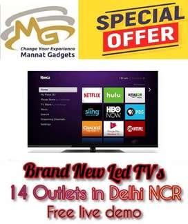 SHAANDAAR_OFFER_32 inch smart 4k ultra H-D led tv with warranty