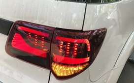 Fortuner led tail lights land cruiser style matrix edition