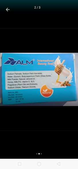 Alm international beauty soap