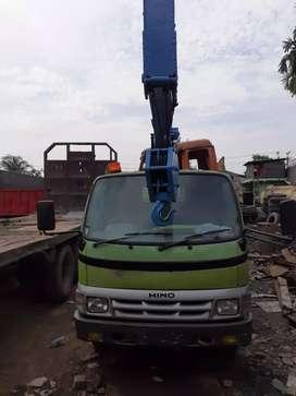 Hino dutro 125ht crane powersteering