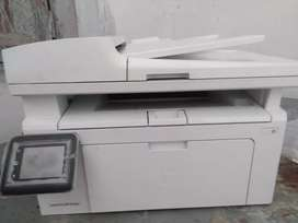 ) M 130 fw) all in one printer  new price 33500