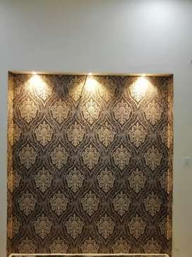 Wallpapers and glass papar