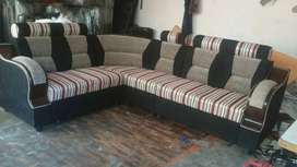 Corner sofa set good quality and best price all type furniture availab