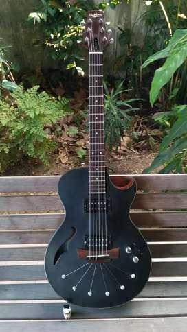 Gitar Hollowbody Akustik Elektrik Babicz Octane 818 made in USA