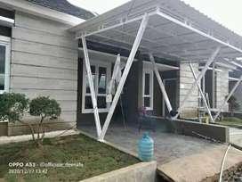 @40 canopy minimalis rangka tunggal atapnya alderon rs anti panas
