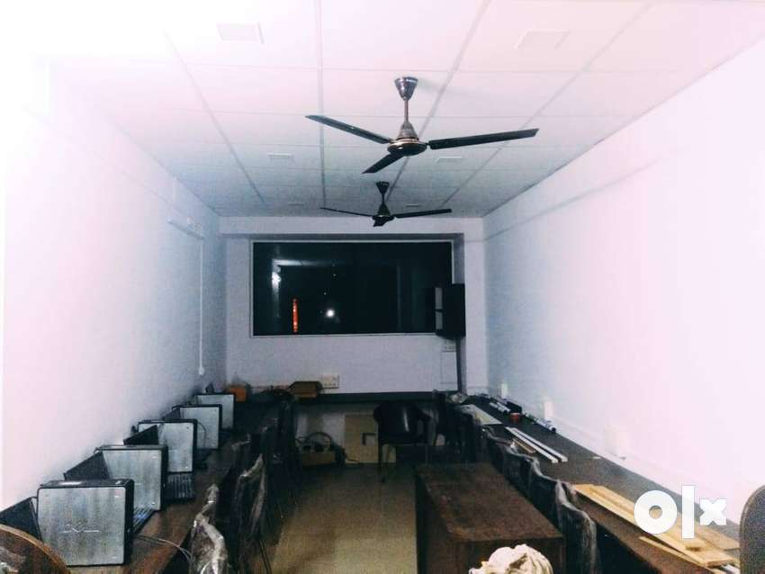 Semi furnished office space is available on rent near ruby hall 0