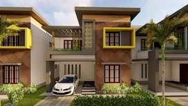 3Bhk Brand new 16 Villas For Sale in Kuzhivelippady 55 Lakhs