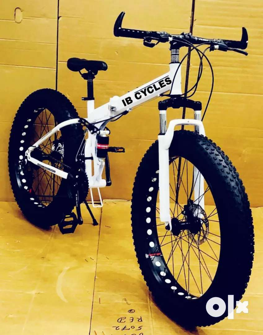 New fat tyre folding cycle available