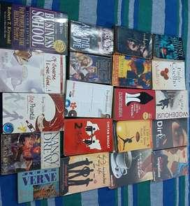 20 English Novels/Books - Fixed Price