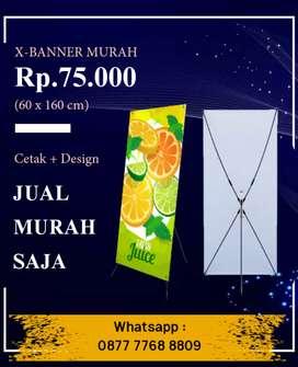 X-Banner Murah Sidoarjo