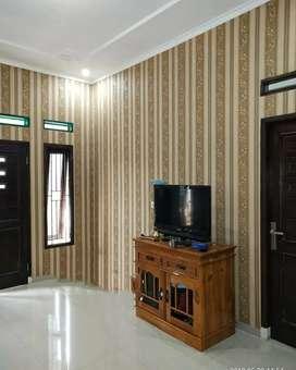 Wallpaper dinding cantik edisi 4634 GDI gorden hordeng murah termewah