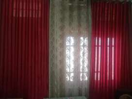 Room curtains 6 pieces