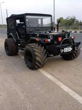 Open jeep thar