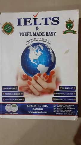 IELTS & TOEFL Made Easy Book