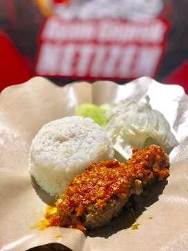 Promo Ayam Geprek Sambal Bawang + Nasi