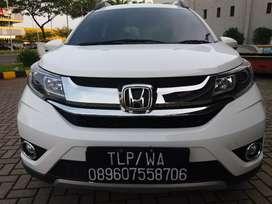 Honda BR-V 1.5 E AT putih 2018 mulus