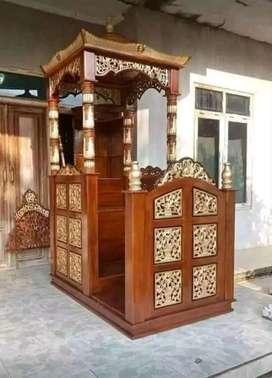 mimbar masjid kubah laris 115