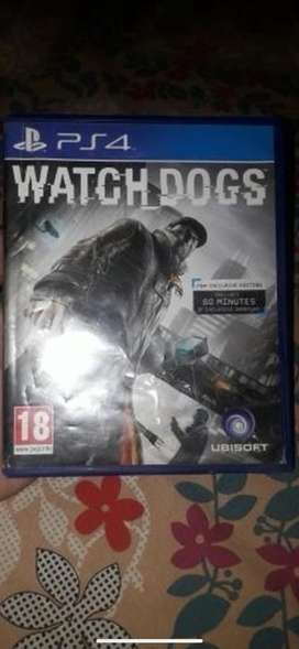 Watch dogs original cd ps4 best quality used a bit