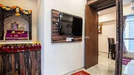 2bhk , rent-25k , carpet 700, manpada