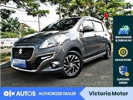 [OLX Autos] Suzuki Ertiga 1.4 Dreza Bensin A/T 2017 Abu-Abu #Victoria