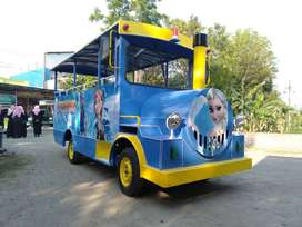 wahana mainan kereta mini wisata meja pasir kinetik DZ