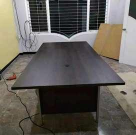 Meja miting meja rapat meja kerja