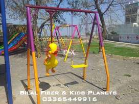 Kids swings and slides