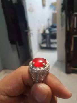 Batu akik red delima