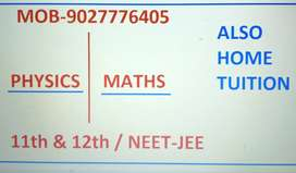 Physics & maths students required for NEET/JEE/11th&12th