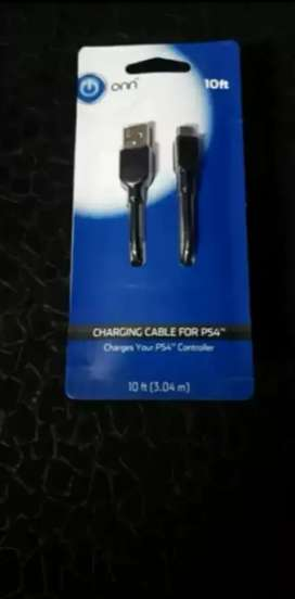 Charging cable ps4 original playstation 4 play station four charge ps