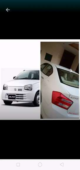 Rent A Car Alto/City/Corola Lahore/Islamabad/Karachi Pick  Drop off