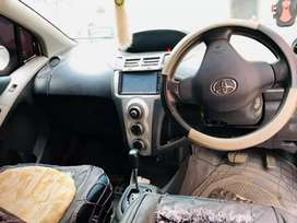Toyota vitz 2005 on easy installment in corporate