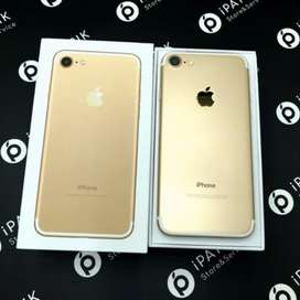 100% ORIGINAL IPHONE 7-32GB BOX PACK WITH WARRANTY