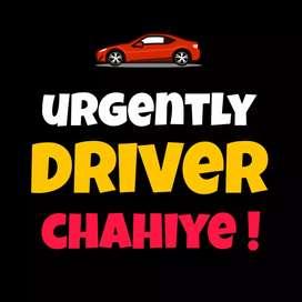 Night ke liye driver chahiye.