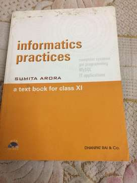 Informatics Practices for class 11th