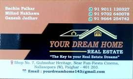 1bhk flat Nalasopara