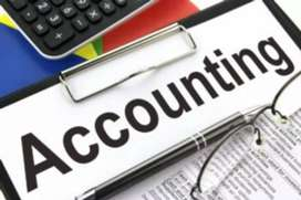 Accounting work with gst return filling