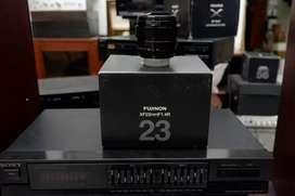 Fujinon 23 mm f1.4 R ex ffid mulus Box