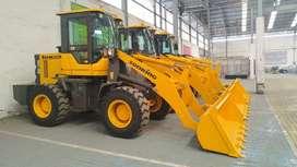 Wheel Loader Murah 0,8-1,1m3 Turbo Power Full Yunnei Engine 76Kw