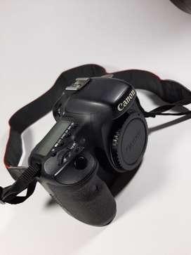Canon eos 7D + lensa L canon EF 70-200mm