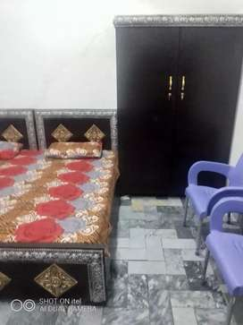 Furnished rooms with attach washroom