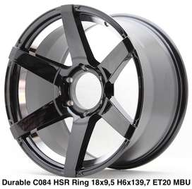 velg racing pajero sport fortuner prado dmax mux everest ring 18