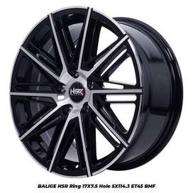 Velg Racing HSR Blige Ring 17 Untuk Xpander Rush Terios Innova Dll