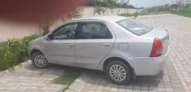 Etios petrol model with cng fitted