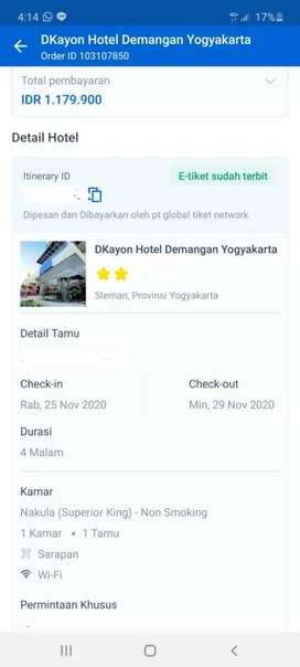 Jual voucher hotel yogya