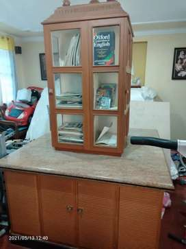 Rotating table with lot of compartments and granite top