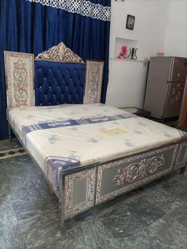 Iron bed stain less steel