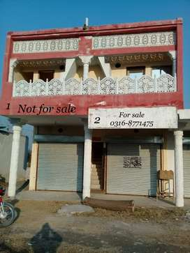 Commercial shop and upper flat for sale