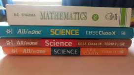 Class 9 and 10 RD Sharma, All in One Science